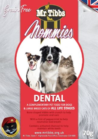 DENTAL NOMMIES x 3 bags